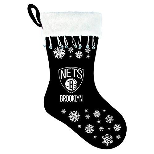 NBA Brooklyn Nets Stocking Snowflake