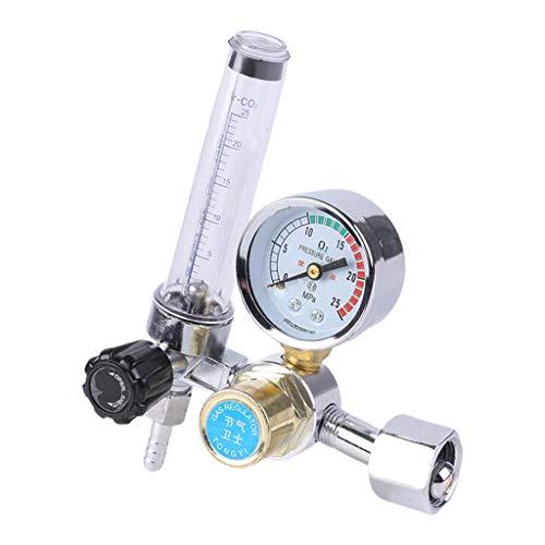 freneci Argon CO2 Mig Tig Flow Meter Schweißen Weld Manometer Gas Schweißer Druck Minderer