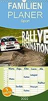 Rallye Faszination 2022 - Familienplaner hoch (Wandkalender 2022 , 21 cm x 45 cm, hoch): Rallye Faszination Kalender 2016 (Monatskalender, 14 Seiten )