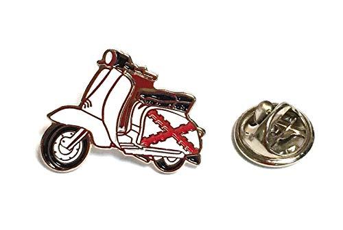 Pin de Traje Vespa Lambretta Aspa de Borgoña