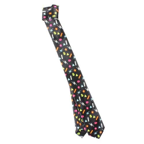 Rock de cravate Rocking Eighties Noir/Multi