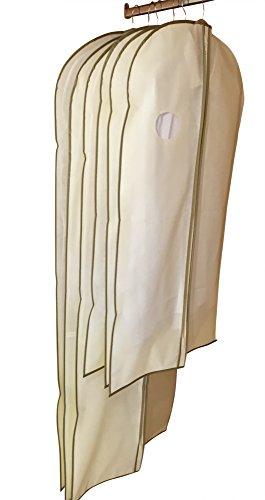 Lot de 6 Housses de Protection pour Vêtements/Costumes par DRYZEM 2 ans de garantie