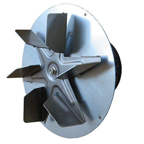 Easyricambi Aspiratore estrattore fumi EBM R2E210-AA34-05 per stufe a Pellet e caldaie a biomasse. Completo di Encoder.