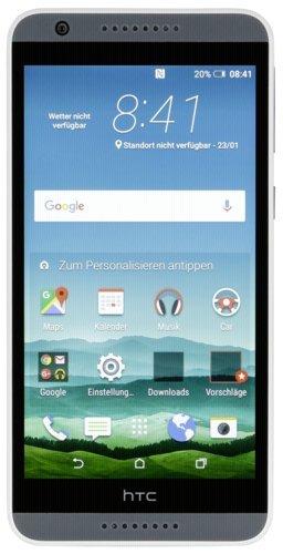 HTC 99HABV008-00 Desire 820 Smartphone (13,9 cm (5,5 Zoll) Display, 1,5GHz Prozessor, 2GB RAM, 16GB interner Speicher, Android 4.4) Tuxedo grau