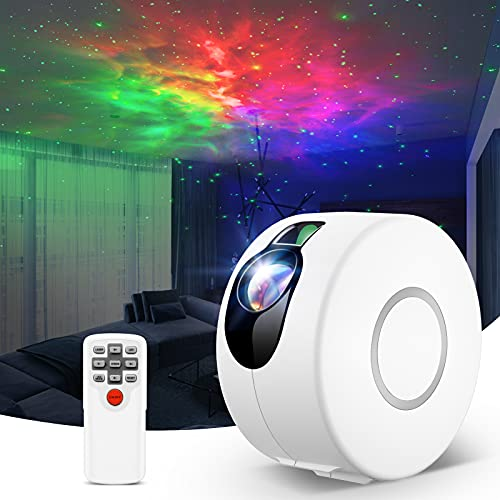 Star Projector,LED Galaxy Projector Light with Nebula,Night Light Projector with Remote Control for Kids Baby Adults Bedroom/Party/Game Rooms/Home Theatre/and Night Light Ambience
