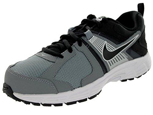 Nike Kids Dart 10 (GS/PS) Black/Mtllc Silver/Cl Gry/Wht Running Shoe 6 Kids US