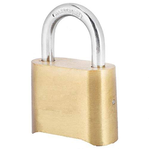 4 Dail Digit Prueba De Óxido De Latón Bloqueo De Contraseña Candado De Combinación Armario De Almacén Cerraduras De Puertas Bloqueo De Código