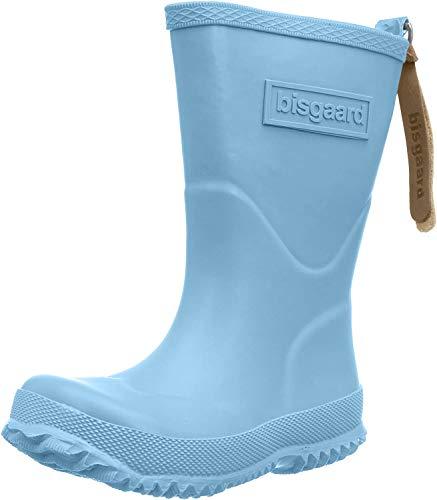 Bisgaard Unisex-Kinder Rubber Boot Basic Gummistiefel, Blau (167 Sky-Blue), 22 EU