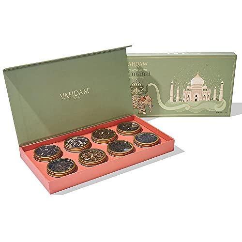 VAHDAM, Set de Té para Regalo Finde en Taj Mahal | 8 Tés...