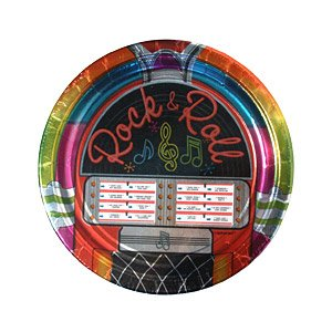 Lowest Price! Rock and Roll Plates - 9