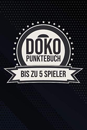 Doko Punktebuch: Der Punkteblock für Doppelkopf-Spiele