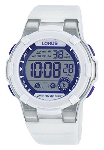 Lorus Watches Damen-Armbanduhr Sport Digital Quarz Kautschuk R2359KX9