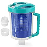 SOQAL Pool Leaf Canister with Mesh Basket, in-line Leaf Canister Catcher for Hayward Pool Spa Swimming Pool Cleaner,...