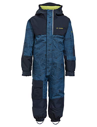VAUDE Kinder Snow Cup All Over Print, Schneeanzug Overall, blau(deep water), 104