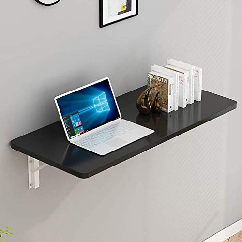 Mesa plegable plegable de pared, mesa de pared, mesa de comedor/escritorio plegable para computadora/escritorio flotante para computadora portátil,mesa colgante para estudio/dormitorio/baño o balcón