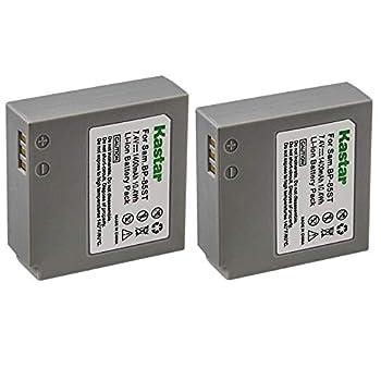 Kastar 2X Battery for Samsung IA-BP85ST IA-BP85NF HMX-H100 HMX-H104 HMX-H105 HMX-H106 SC-HMX10 SC-HMX20C SC-MX10 SC-MX20 SMX-F30 SMX-F33 SMX-F34 VP-HMX08 VP-HMX10 VP-HMX20C VP-MX10 VP-MX20 VP-MX25