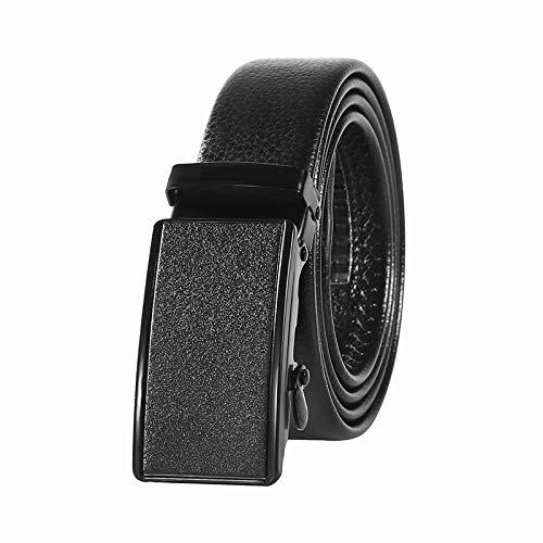 longhua Cintura da Uomo Regalo di San Valentino Cintura con Fibbia Automatica Cintura M