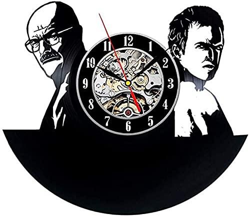SHILLPS Breaking Bad Design Vinyl Record Unique Wall Clock NO LED