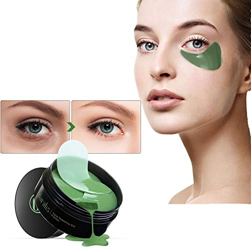 Eye Mask, Algen-Eye Mask, Augenpads anti aging, Augen Patches, Eye Patches, Collagen Augenringe Augenpads, Augenpflege mit Hyaluron, Feuchtigkeit Spendende, Dunkle Kreise & Puffiness