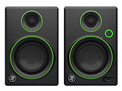 Mackie Studio Monitor, Black w/green trim, 3-inch (CR3) by Loud Technologies, Inc.