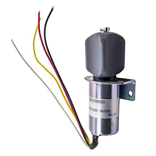 maXpeedingrods 4 Wires 12V Exhaust Solenoid for Corsa Electric Captains Call Systems 270-11101