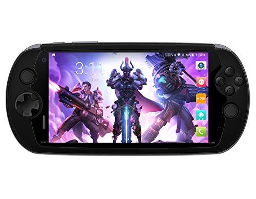 Moqi I7S Game Phone Handheld Consola de Juegos con Pantalla táctil de 6