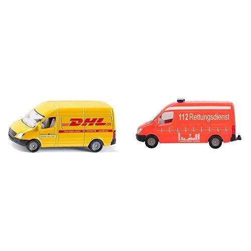 Siku 1085 - Postwagen &  0805 - Krankenwagen