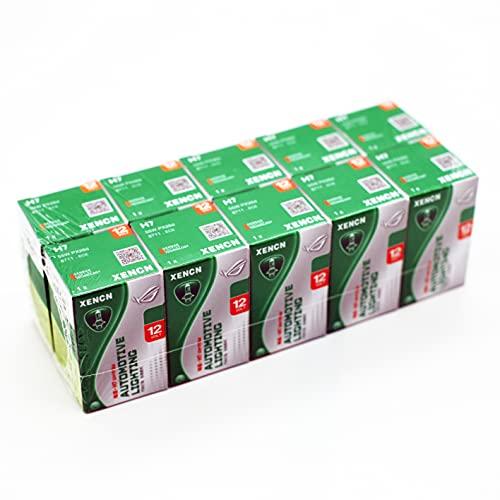 Lot de 10 ampoules XENCN H7 12 V 55 W PX26d