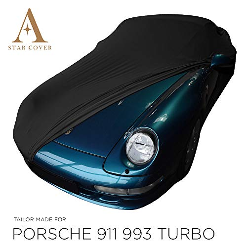 Morbido Telo Copriauto Interno con specchio tasche per Porsche 911/ /993