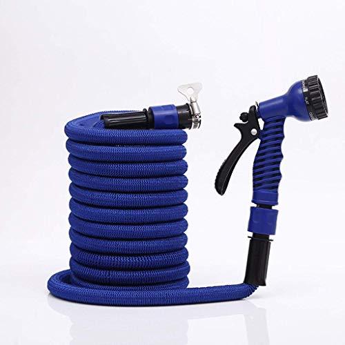 Tuyau d'arrosage, Tuyau Flexible, Tuyau Flexible Extensible Flexible No Kink Magic Water Hose with 8 Function Spray Gun