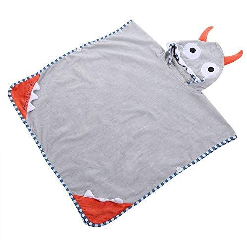 Baby badjas, Baby Boy Girl Cotton Hooded Badjas Kids Soft Lekker Dier van de Cartoon Bath Handdoeken (Kleur: # 1) (Color : #1)