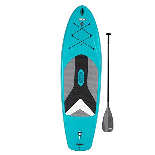 Lifetime Horizon 100 Hardshell Stand-Up Paddleboard (Paddle Included), Teal