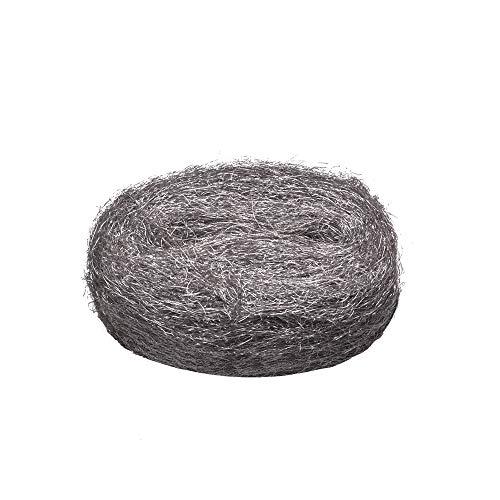 LOOBANI Steel Wool, Coarse Wire Wool Fill Fabric DIY Kit, Hardware Cloth, Gap Blocker, Keep Annoying Animals Away from Holes/Wall Cracks/Vents in Garden, House, Garage.(1 Pack)