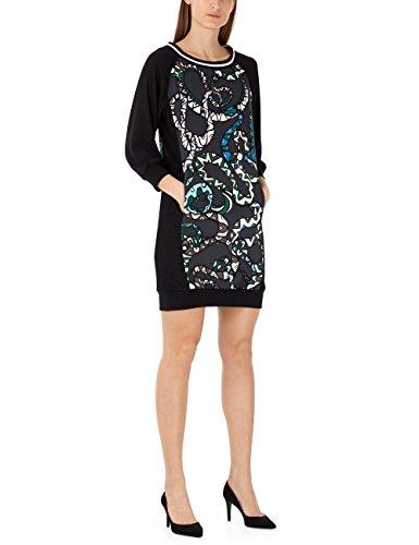 Marc Cain Sports Damen Kleid KS 21.02 W01, Mehrfarbig (Drake 576), Gr. 38 (Herstellergröße: N3)