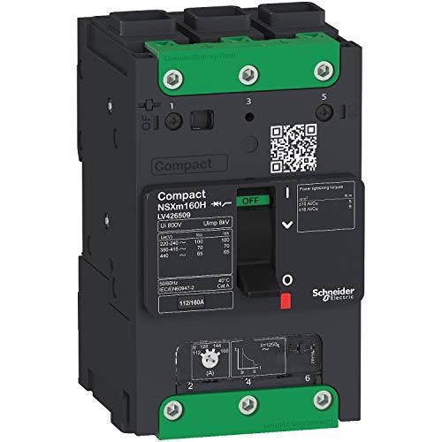 Interruptor NSXm 50kA TM160D 3P Elink marca SCHNEIDER