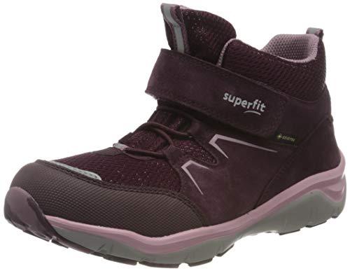Superfit Mädchen SPORT5 Gore-Tex Sneaker, ROT/LILA 5000,21 EU Weit
