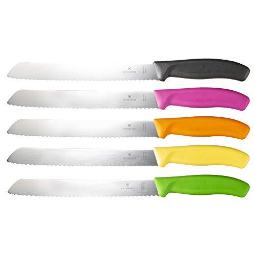 VICTORINOX(ビクトリノックス)ブレッドナイフピンク21cmスイスクラシックブレッドナイフパン切りナイフ6.8636.21L5E