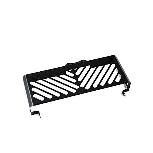 IBEX 10001330 Kühlerabdeckung Wasserkühler Kühlergrill Kühlerschutz Kühlergitter Kühlerschutzgitter Kühlerverkleidung schwarz Clean