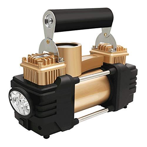 WNN-URG Neumático del compresor de Aire portátil de la Bomba, Cámara en Mano for inflar con Aire del Coche con el Manómetro Digital, Mini Bomba de neumáticos for Coches, Ciclo, Bola (DC 12V) URG