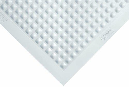 Wearwell 580.12x2x3GY Anti-Müdigkeit Labormatte, antimikrobiell, autoklavierbar 61 x 91 cm, grau