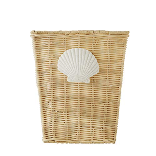 Better Homes and Gardens Coastal Wastebasket.