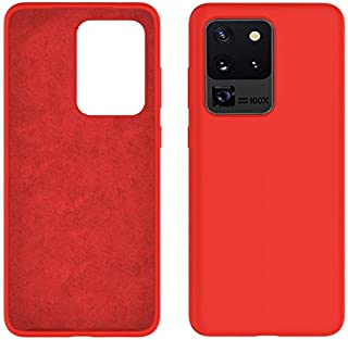 Rock Galaxy S20 Ultra Case, Liquid Silicone Gel Rubber Shockproof Slim Shell with Soft Microfiber Cloth Lining Cushion Cov...