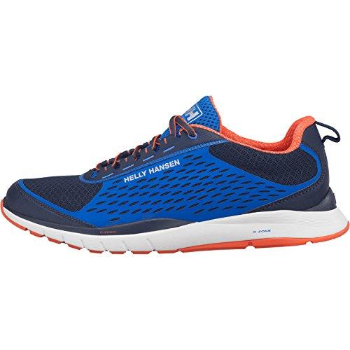 Helly Hansen Panarena VTR, Zapatillas de Deporte Hombre, Azul/Azul Marino/Naranja, 41