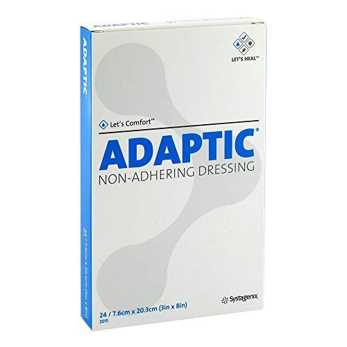 ADAPTIC 7,6x20,3 cm feuchte Wundauflage 2015DE 24 St