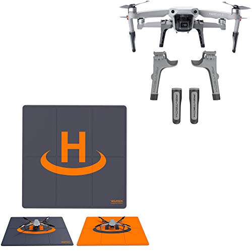 PGYTECH Mavic AIR 2 Landing Gear Extensions Legs with VCUTECH Drone Landing Pad 20-INCH