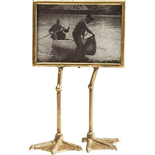 Kare Design Rahmen Duck Feet Horizont 13x18cm, schöner Bilderrahmen in gold, witziger Dekorahmen, Bilderrahmen in Entenlook, (H/B/T) 37,5x19x9,5cm