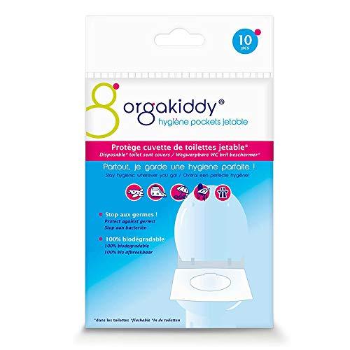 Orgakiddy - Copriwater usa e getta, classico, 10 unità