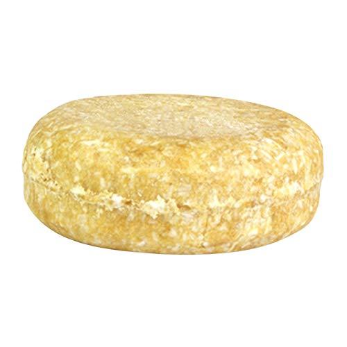 Perfeclan Barra de champú sólida, hecha con ingredientes naturales y orgánicos, libre de cicatrices y Vegan, todo tipo de cabello, barra de 60g - Jengibre