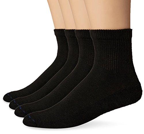 Dr. Scholl's Herren Dx-dsm22037-blk Lssige Socken, schwarz, Einheitsgröße (4er Pack)