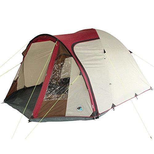 10T Outdoor Equipment 10T Corowa 5 Tienda de cúpula, Gris,